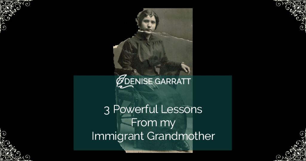 Lessons from Grandma Gallardo