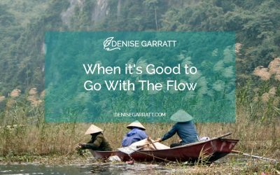 When It's Good to Go With The Flow